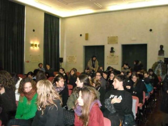 28 febbraio 2009, Aula Magna Liceo Dante Trieste