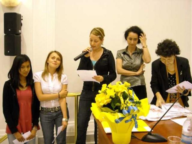 5 giugno 2009,  Roma, Teatro dei Dioscuri