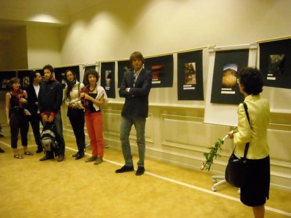 2 ottobre 2009, Presentazione del Libro di Poesie Strade/ Roads