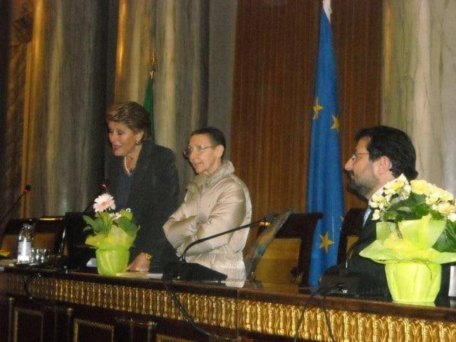 19 marzo 2010, Conferenza stampa
