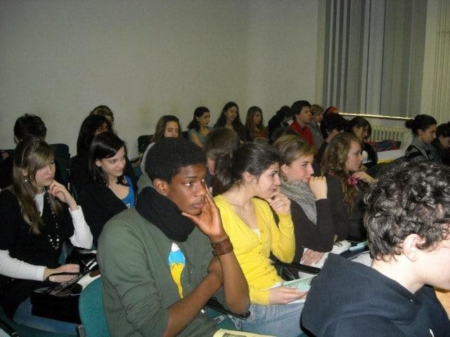 20 marzo 2010,Liceo Oberdan