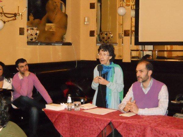 26 marzo 2011, Incontro con il poeta Arben Dedja