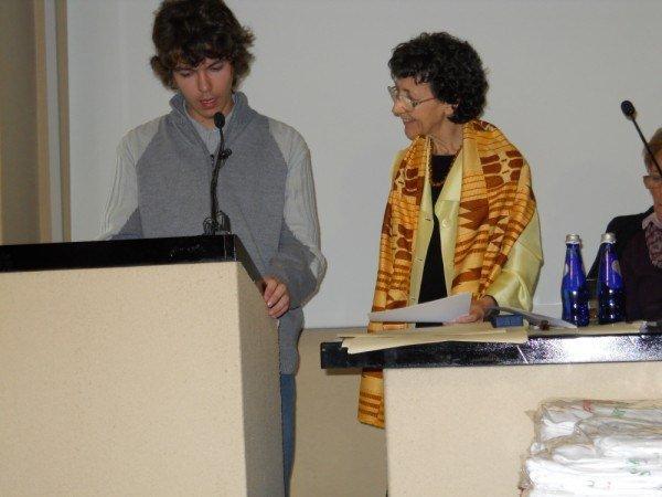 27 marzo 2011, Cerimonia di premiazione