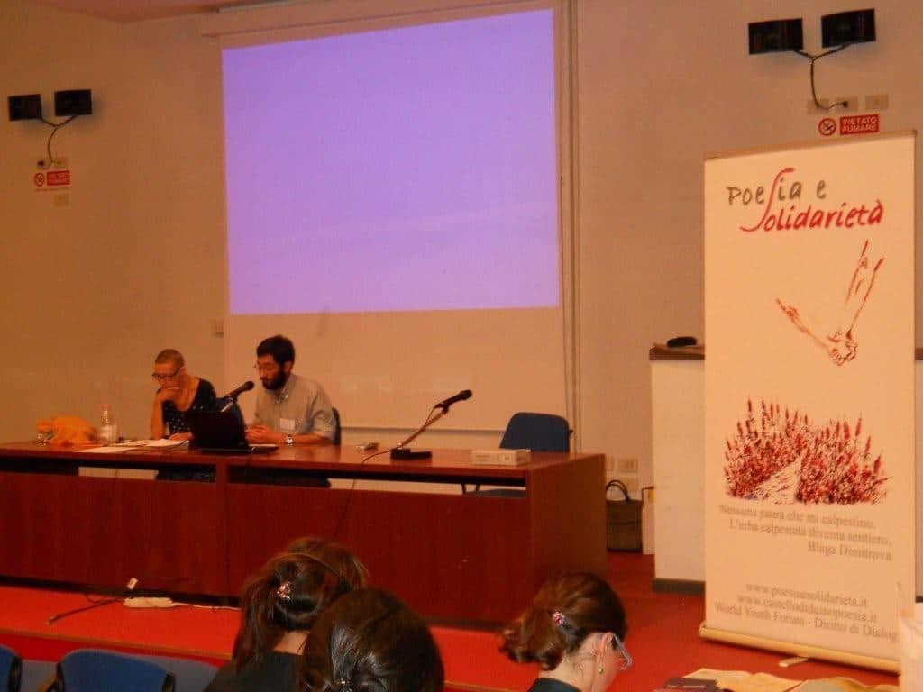 """20-23 settembre 2012 Forum Mondiale dei giovani """"Diritto di Dialogo"""""""
