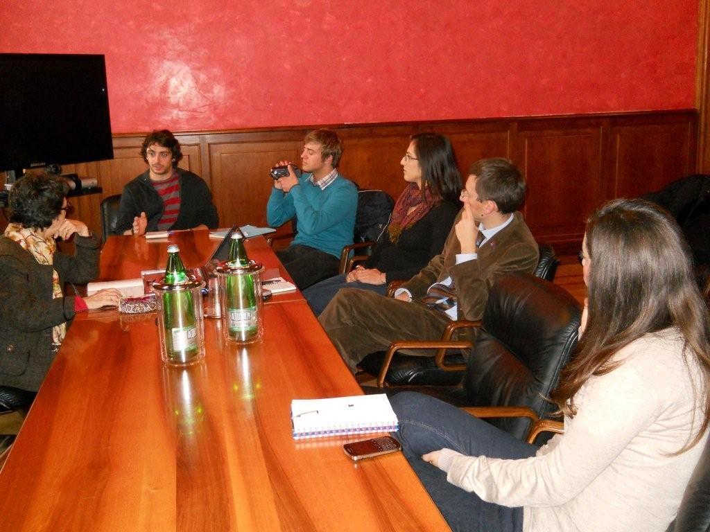 """6 dicembre 2012: """"Cooperazione internazionale e progetti dell'associazionismo giovanile"""