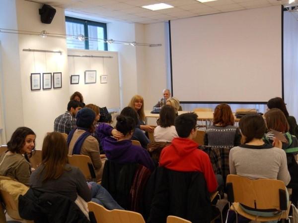 "2013, 22 marzo- Auditorium Biblioteca nazionale Slovena: "" Workshop tradurre"""