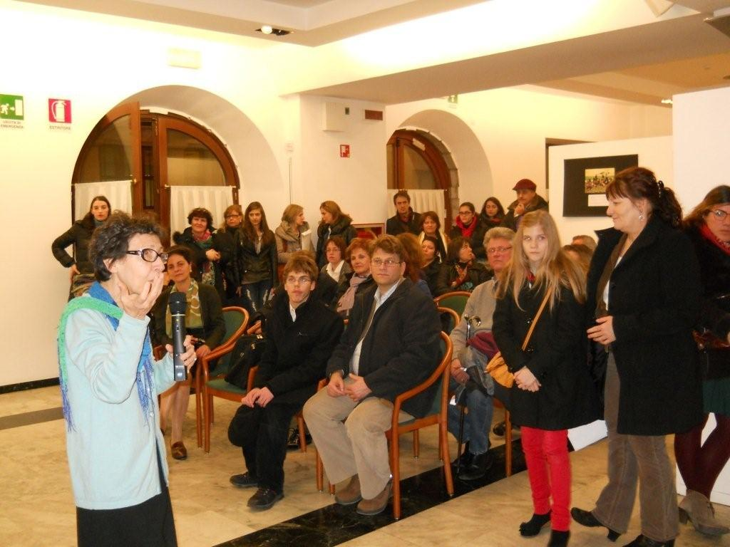 2013, marzo 22 -Sala Giubileo: Reading giovani poeti italiani