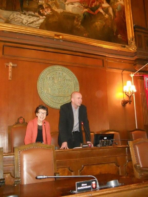 2013, march 23: Welcome in Trieste City Hall