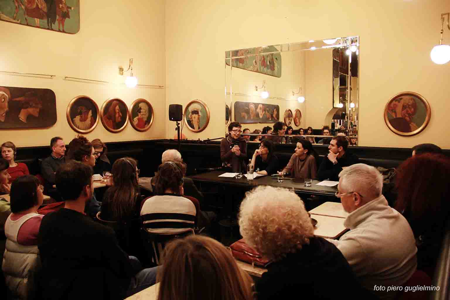 Dialogues on Writing, Federica Manzon and Simone Marcuzzi - 21.3.2015